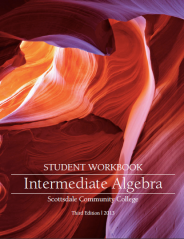 Intermediate Algebra Workbook Image